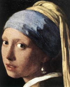 Κοριτσι με μαργαριταρενιο σκουλαρικι [Γ.Βερμεερ, 1665]